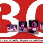 Baumis Vespa wird 30
